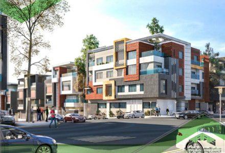 عمارة سكنية حي العقيق