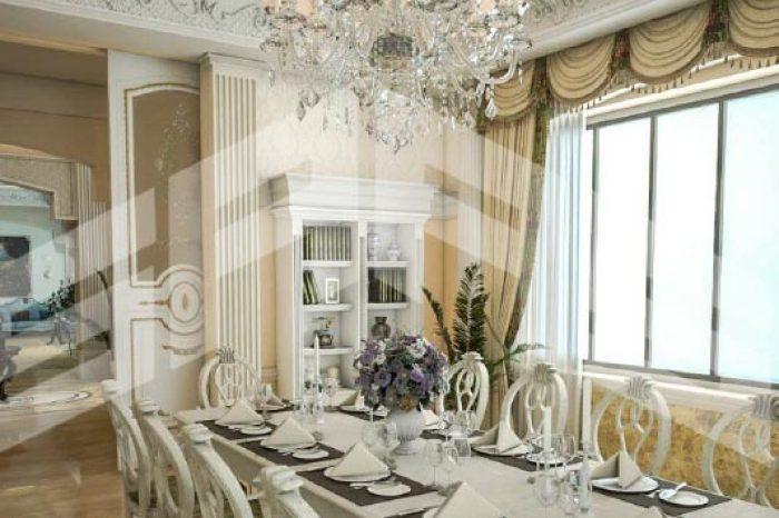 غرفه طعام - قصر حي حطين - مدينه الرياض